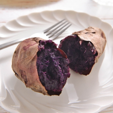 Frozen Baked Purple Sweet Potato