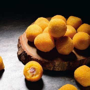 いさつま芋の団子