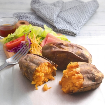 赤い冷凍焼き芋