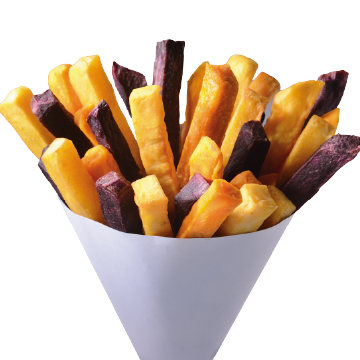 Colorful Sweet Potato Fries