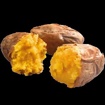 Frozen Baked Sweet Potato