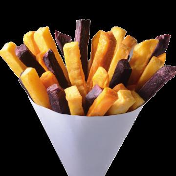 三色地瓜薯條